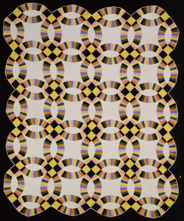 Double Wedding Ring Quilt – Works – eMuseum